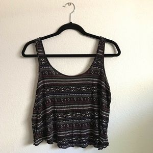 modern FOREVER 21 tribal tank top✨